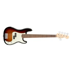 Fender American Pro Precision Bass V, Rosewood Fingerboard, 3-Color Sunburst