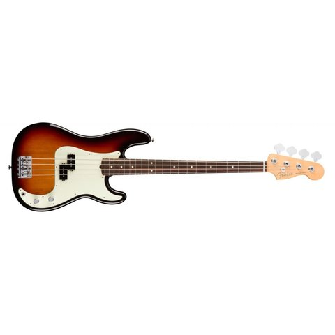 American Pro Precision Bass, Rosewood Fingerboard, 3-Color Sunburst