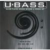 Kala KA-BASS-4 Kala Metal Round Wound 4 String U-Bass Set