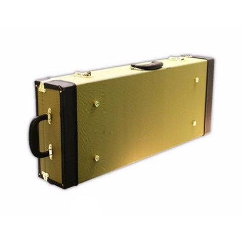 Kala HCT-UB Tweed, Rectangular Hardcase for Acoustic-Electric U-Bass