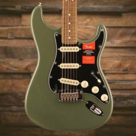 Fender American Pro Stratocaster, Rosewood Fingerboard, Antique Olive