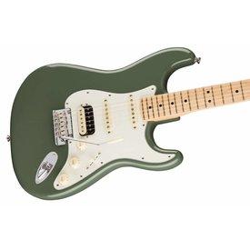 Fender American Pro Stratocaster HSS Shawbucker, Maple Fingerboard, Antique Olive