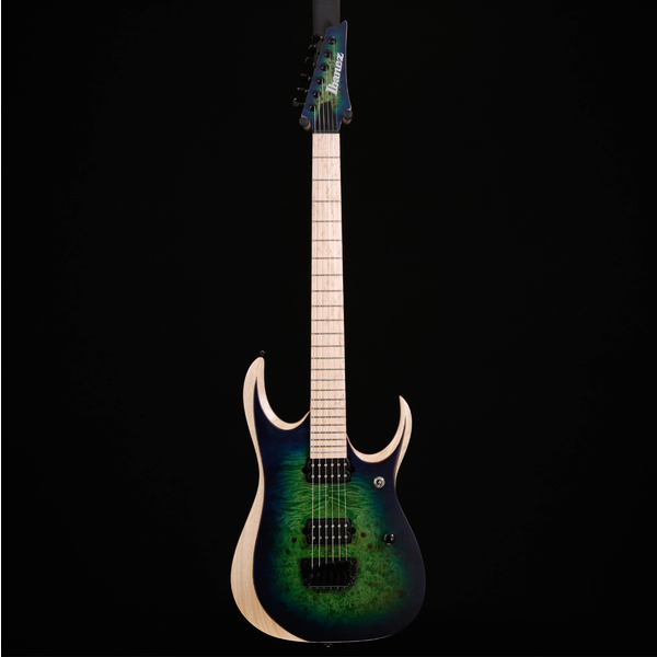 Ibanez Ibanez RGDIX6MPBSBB Iron Label 6str, Surreal Blue Burst 681 6lbs 8.8oz