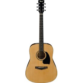 Ibanez Ibanez PDR10NT Dreadnought Acoustic, Natural High Gloss