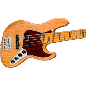 Fender Fender American Ultra Jazz Bass V, Maple Fingerboard, Aged Natural