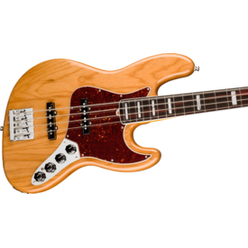 Fender Fender American Ultra Jazz Bass, Rosewood Fingerboard, Aged Natural