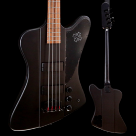 Epiphone Epiphone EBTBPBBH1 Goth T-bird-IV Bass Black Satin Black Hardware 420 9lbs 8.3oz