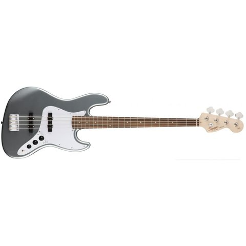 Squier Affinity Series Jazz Bass, Indian Laurel Fb, Slick Silver