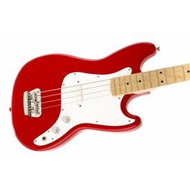 Squier Fender Bronco Bass, Maple Fb, Torino Red