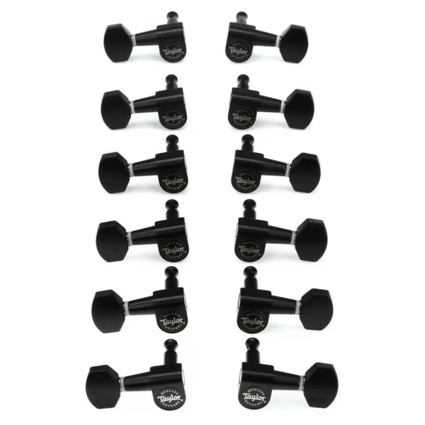 Taylor Taylor 181-12SB Guitar Tuners 1:18 Ratio, Satin Black