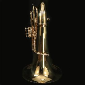 King King 2341W BBb Tuba, 4-Valve, Standard Finish w/ Case