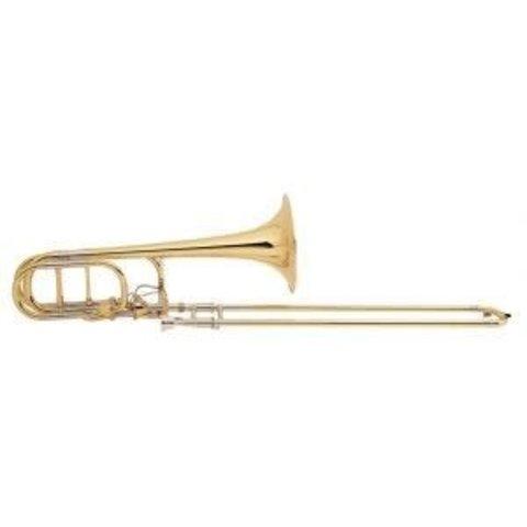 Bach 50AF3L Stradivarius Pro Bb/F/Gb Bass Trombone w Infinity Valve, Open Wrap