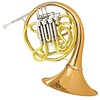 Conn 11DRE Symphony Series Professional F/Bb Double French Horn, Red Brass