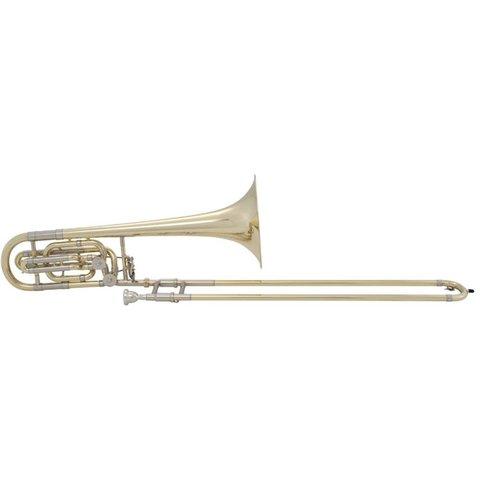 Bach 50B2 Stradivarius Professional Bb/F/Eb Bass Trombone, Standard Finish