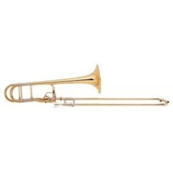 Bach Bach 42AFG Stradivarius Professional Tenor Trombone, Gold Brass Bell