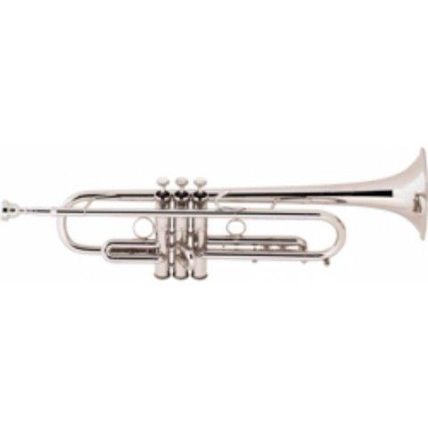 Bach LT190S1B Stradivarius Commercial Profess Bb Trumpet .459'' Bore Silver Pltd