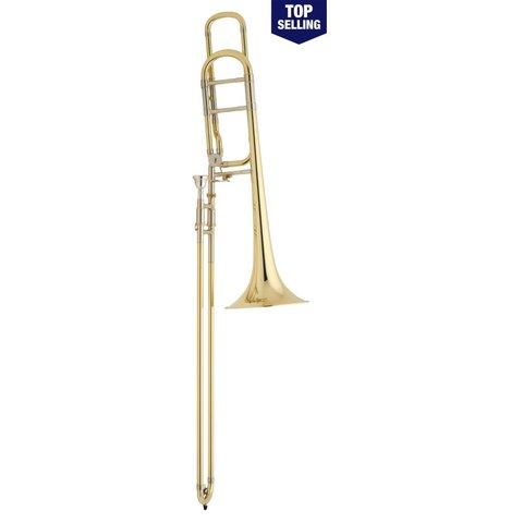 Bach 42BO Stradivarius Tenor Trombone, F Rotor, Open Wrap