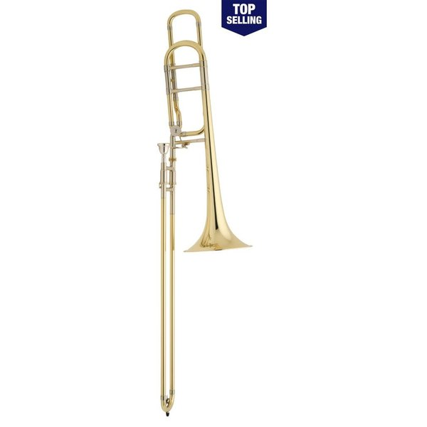 Bach Bach 42BO Stradivarius Tenor Trombone, F Rotor, Open Wrap