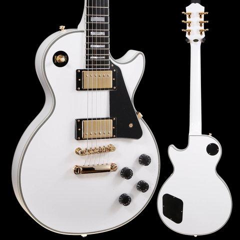 Epiphone Les Paul Custom, Alpine White 939 9lbs 1.6oz