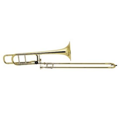 Bach 42BOG Stradivarius Professional Tenor Trombone w/ F Rotor, Gold Brass Bell