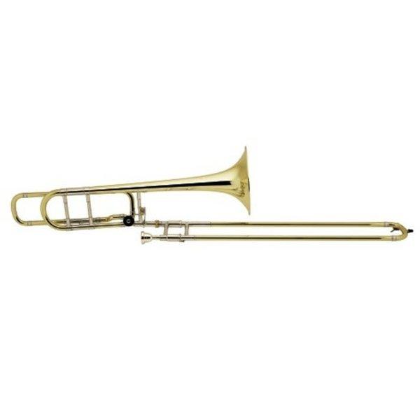 Bach Bach 42BOG Stradivarius Professional Tenor Trombone w/ F Rotor, Gold Brass Bell