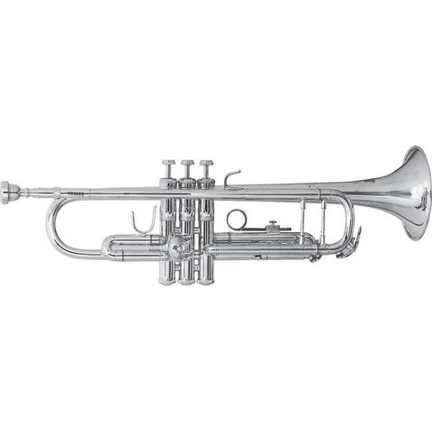Bach TR500S Aristocrat Series Student Bb Trumpet, Silver Plated