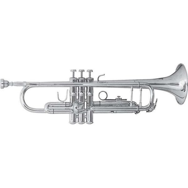 Bach Bach TR500S Aristocrat Series Student Bb Trumpet, Silver Plated