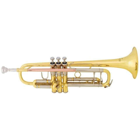 Bach TR500 Aristocrat Series Student Bb Trumpet, Standard Finish