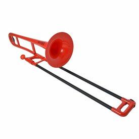 Jiggs pBone PBONE1R Plastic Trombone, Red