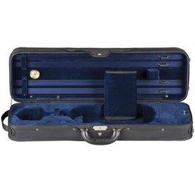 Heritage Heritage Deluxe Challenger Violin Case - Black/Blue