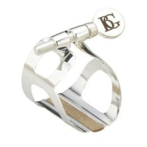 BG L80 Eb Clarinet Silver Plated Tradition Ligature & Cap