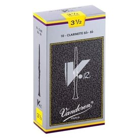 Vandoren Vandoren Bb Clarinet V.12 Reeds, Box of 10 Strength 3.5