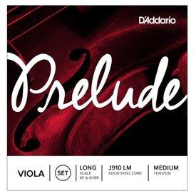 D'Addario Orchestral D'Addario Prelude Viola String Set, Long Scale, Medium Tension