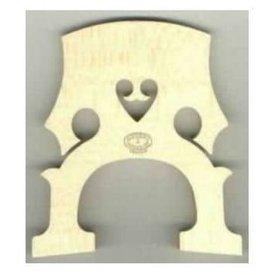 M&M Distributing Company Aubert Cello Bridge - Untreated 1/4 size