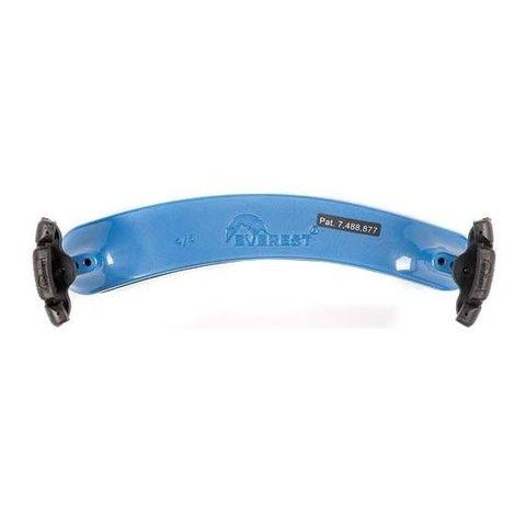 Everest Violin Shoulder Rest, 1/2 Size, Blue