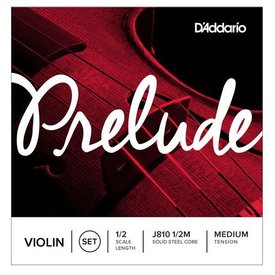 D'Addario Orchestral D'Addario Prelude Violin String Set, 1/2 Scale, Medium Tension