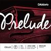 D'Addario Prelude Cello Single D String, 1/4 Scale, Medium Tension