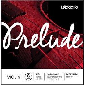 D'Addario Orchestral D'Addario Prelude Violin Single G String, 1/8 Scale, Medium Tension