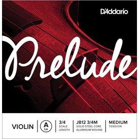 D'Addario Orchestral D'Addario Prelude Violin Single A String, 3/4 Scale, Medium Tension