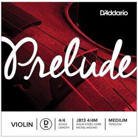 D'Addario Orchestral D'Addario Prelude Violin Single D String, 4/4 Scale, Medium Tension