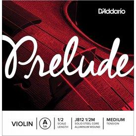 D'Addario Orchestral D'Addario Prelude Violin Single A String, 1/2 Scale, Medium Tension