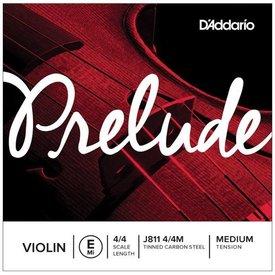 D'Addario Orchestral D'Addario Prelude Violin Single E String, 4/4 Scale, Medium Tension