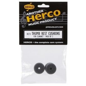 Herco Herco HE73 Clarinet Thumbrest Cushion, 2 Pk