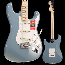Fender Fender American Pro Stratocaster, Maple Fb, Sonic Gray US20001721 7lbs 10.9oz