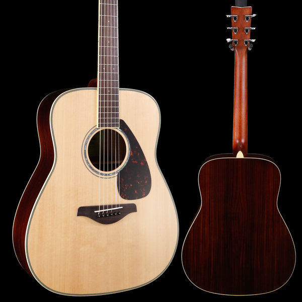 Yamaha Yamaha FG830 Natural Folk Solid Top, Rosewood Back & Sides 587 4lbs 6.1oz
