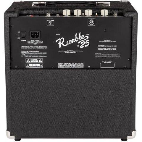 Rumble 25 (V3), 120V, Black/Silver