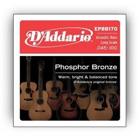 D'Addario D'Addario EPBB170 Phosphor Bronze Acoustic Bass Strings, Long Scale, 45-100