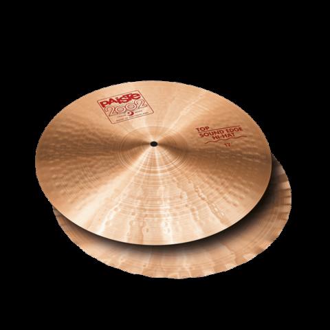"Paiste 14"" 2002 Sound Edge Hi-Hit Cymbals"