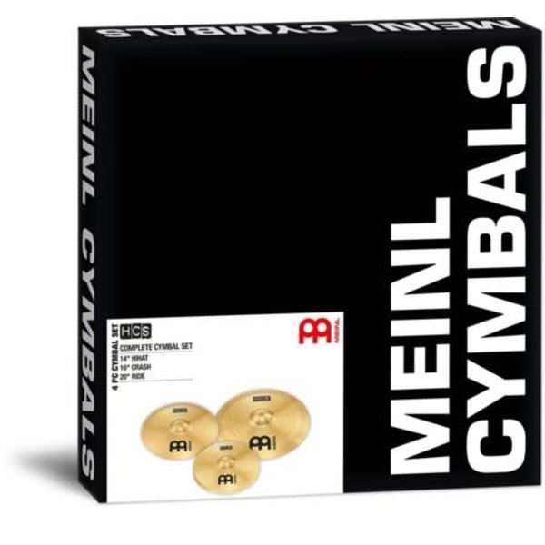 Meinl HCS Complete Cymbal Set HCS141620