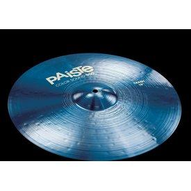 """Paiste Paiste 18"""" Color Sound 900 Blue Crash Cymbal"""